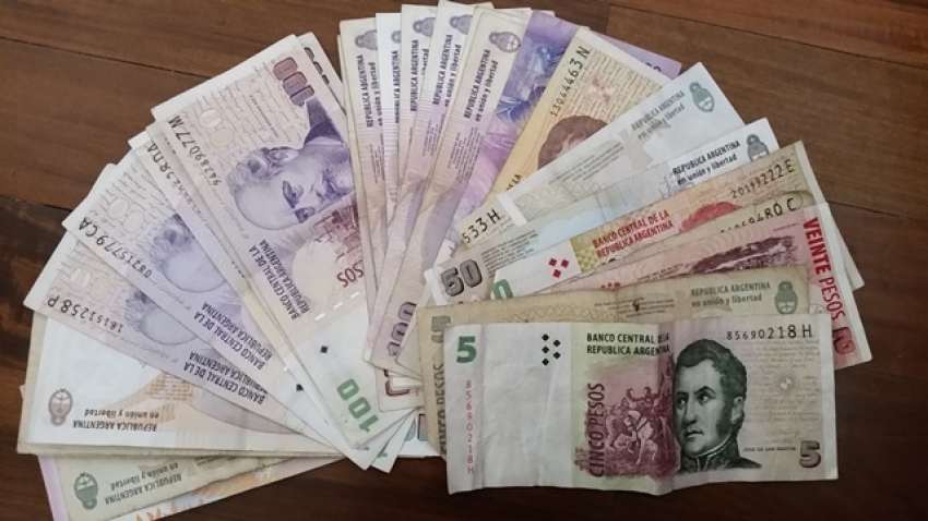 The currency in Argentina is the Pesos
