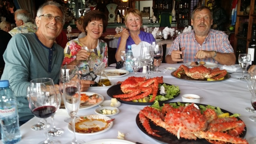 Viva Expeditions Patagonia Tours King Crab