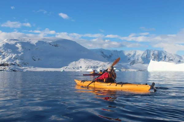 Kayaking in Antarctica is an experience of a lifetime