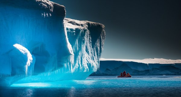 Antarctica will make you feel small