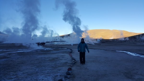 The Atla Atacama and its surprising geysers