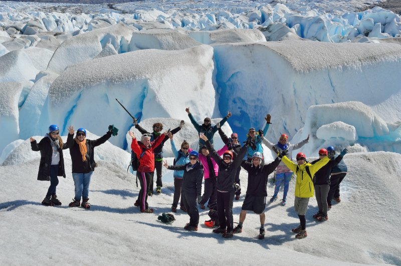 This group is having fun in Patagonia