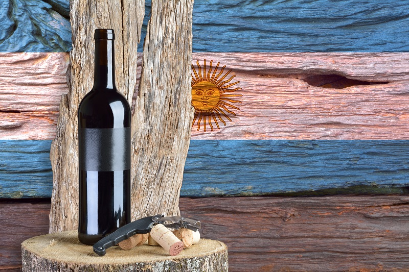 Argentina is the number one producer of wine in South America