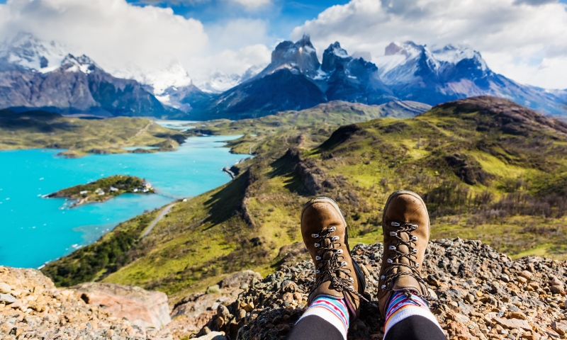 You are going on an adventure in Patagonia